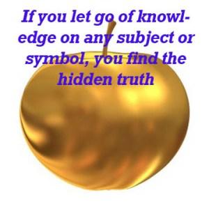 Truth isn't hidden