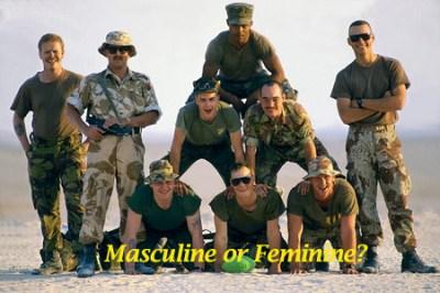 Masculine or Feminine