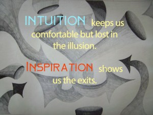Imagination vs. intuition