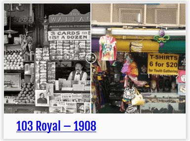 NOLA Transformed - 103 Royal, then-and-now