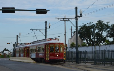 Cemeteries Terminal on the Canal Street Line #StreetcarSaturday