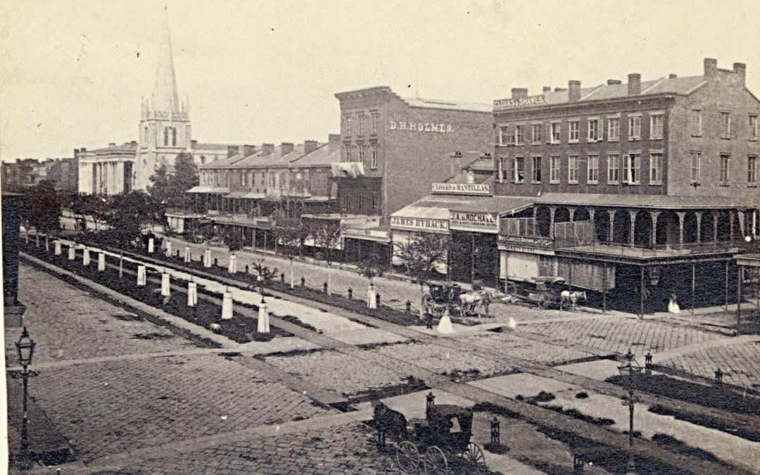 800 Block Canal Street, 1864