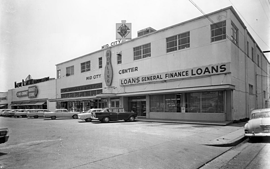 Maison Blanche Budget Store Carrollton and Tulane, 1964