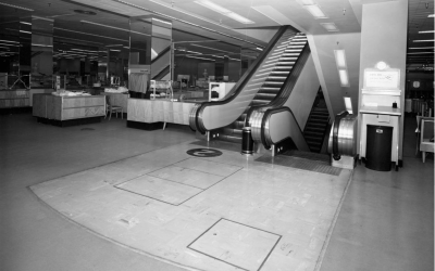 MB Memories – Escalators on Canal Street