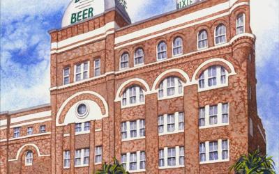 Dixie Brewery – Art by Jane Brewster