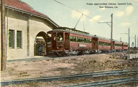 The Spanish Fort Streetcar Line