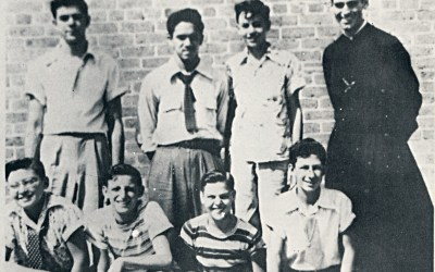 St. Aloysius 1948 – Brother Cyr and his freshman class