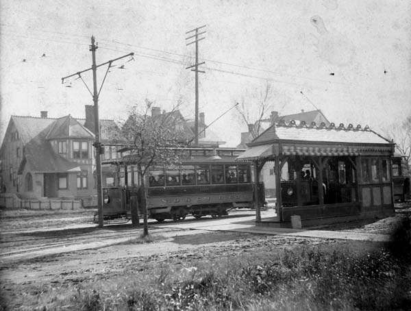 Single Truck Streetcars on Carrollton Avenue, New Orleans, 1901 #StreetcarMonday