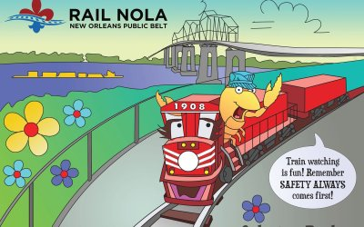 New Orleans Public Belt Railroad – Servicing the Port since 1908 #TrainThursday