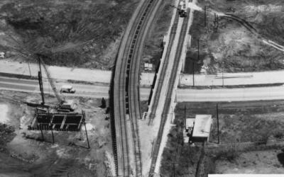 Southern Railway – Pontchartrain Expressway #TrainThursday