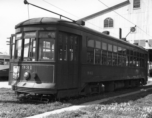 Magazine Street Trackless Trolley Conversion