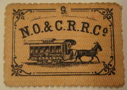 Streetcar ticket