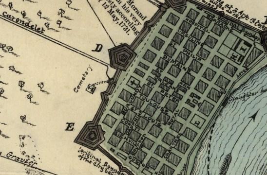 spanish map 1798