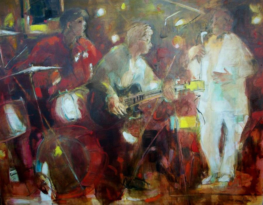 Blues   CONIGLIANO   Nolan-Rankin Galleries - Houston