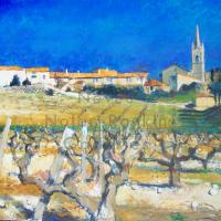 Villars | NR4009 | 25 Figure (32 x 26 inches) | Pierre Neveu | Oil on Canvas | Nolan-Rankin Galleries - Houston