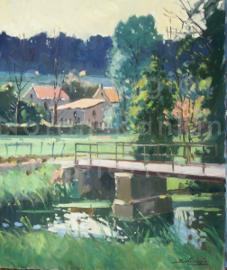 Lavincourt   NR4040   10 fig 22 x 18 inches   Jose Salvaggio   Oil on Canvas   Nolan-Rankin Galleries - Houston