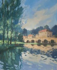 Matin a Haironville NR3943 15 Figure: 25.5625 x 21.25 in. Jose Salvaggio Oil on Canvas