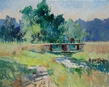 Nolan-Rankin Galleries - Houston   José Salvaggio   Le pont