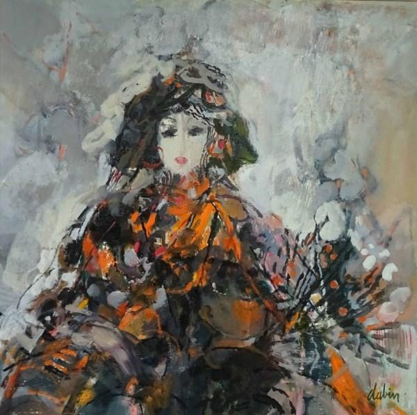 Jeune-fille--Andalouise   Joel Dabin (1933 – 2003)   Nolan-Rankin Galleries - Houston
