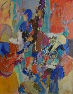 Jazz | Claude Frégère | Nolan-Rankin Galleries - Houston