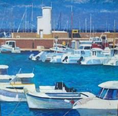 Bateaux de plaisance a Pryiac | Pierre Neveu | Nolan-Rankin Galleries - Houston
