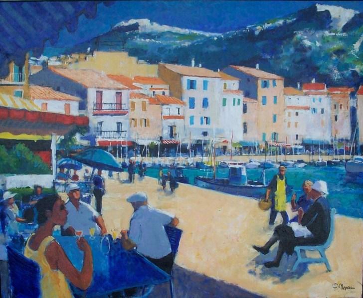 Sur le port de Cassis | Pierre Neveu | Nolan-Rankin Galleries - Houston