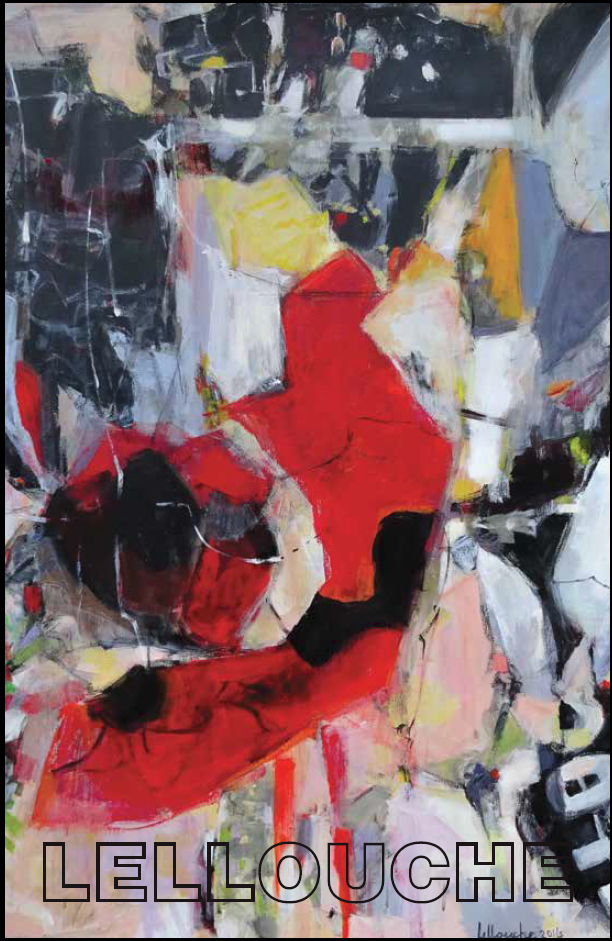 Michele Lellouche - Inner Fire - Feb 2016 - One Woman Exhibition