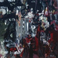 Mystère | NR5234 | 100cm x 100cm: 39.5 x 39.5 in. | Michèle Lellouche | Nolan-Rankin Galleries - Houston