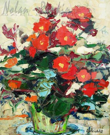 NR5490 Fleurs 8 Figure: 18.125 x 14.625 inches Renée THÉOBALD Nolan-Rankin Galleries - Houston