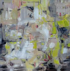 Promenade imaginaire   NR5237   90cm x 90cm: 35.5 x 35.5 in.   Michèle Lellouche   Nolan-Rankin Galleries - Houston