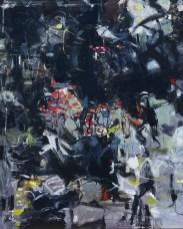Jabberwocky   NR5240   40 Figure: 39.5 x 31.75 in.   Michèle Lellouche   Nolan-Rankin Galleries - Houston
