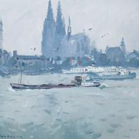 La cathedrle de Cologne Allemagne | Paul Jean Anderbouhr | Nolan-Rankin Galleries - Houston