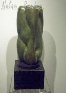 NU | Bronze | Pierre Mouly | Nolan-Rankin Galleries - Houston