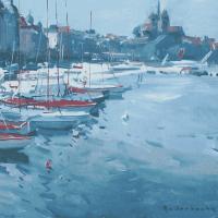 Au bord de Lac a Geneve, Suisse | Paul Jean Anderbouhr | Nolan-Rankin Galleries - Houston