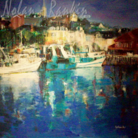 Le Port | Michele Lellouche | Nolan-Rankin Galleries - Houston