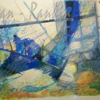 lithograph | Regate | Nolan-Rankin Galleries - Houston