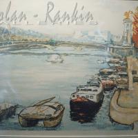 lithograph | Pont Alexandre III | Renee Theobald | Nolan-Rankin Galleries - Houston
