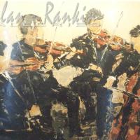 lithograph | Quatuor a cardes | Renee Theobald | Nolan-Rankin Galleries - Houston
