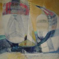 "En Course NR2622 60 Figure: 51.75"" x 38.75"" Paul Ambille Oil on Canvas | Nolan-Rankin Galleries - Houston"