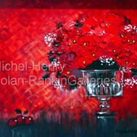 "La Coupe Rouge | NR2651 | 8 Figure: 18.25"" x 14.75"" 