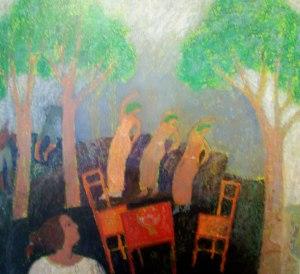 Le nombre trois | Michel Sarazin | Nolan-Rankin Galleries - Houston