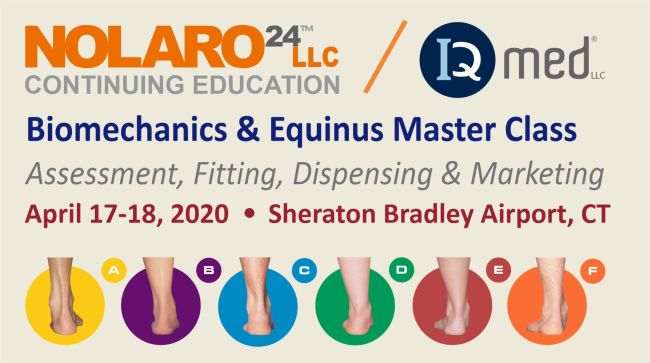 Nolaro24   & IQMed Biomechanics & Equinus Master Class 2020