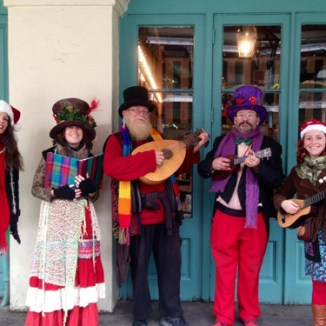 New Orleans Christmas Carolers