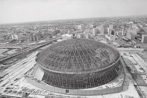 76 louisiana voters approve of superdome 1966 new for Mercedes benz superdome suites