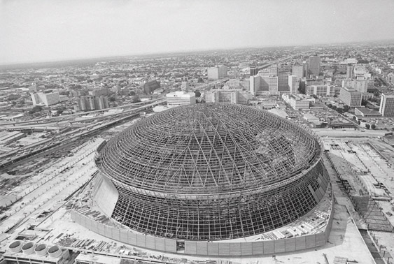 76 louisiana voters approve of superdome 1966 new for Will call mercedes benz stadium
