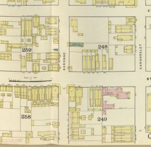 Example of a Sanborn Fire Insurance map - loc.gov