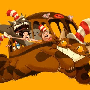 The Catbus in the Hat.