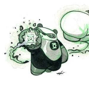 Green Lantern Panda