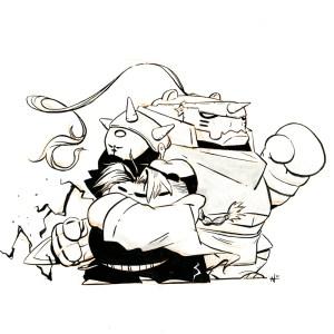 Fullmetal Alchemist Pandas
