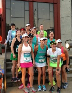 NRC ladies run the Women's Half Marathon